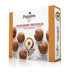 Poppies Salted Caramel Profiteroles