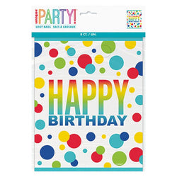 Rainbow Dots Happy Birthday | Loot Bags
