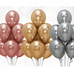 Reflex Balloons | Rose Gold | 30cm | 50 pack