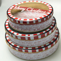 Christmas Cake Tins | 3 set