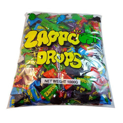 Zappo Drops Bulk Candy. Great candy and lolly selection along with party supplies, food and partyware at The French Kitchen Castle Hill