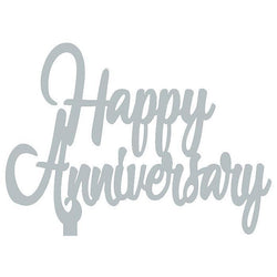 Acrylic Cake Toppers | Happy Anniversary