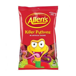 Allens Killer Pythons | Buy bulk confectionery | The French Kitchen Castle Hill