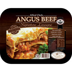 Angus Beef Lasagne 3kg | Allied Chef Premium Quality | The French Kitchen Castle Hill