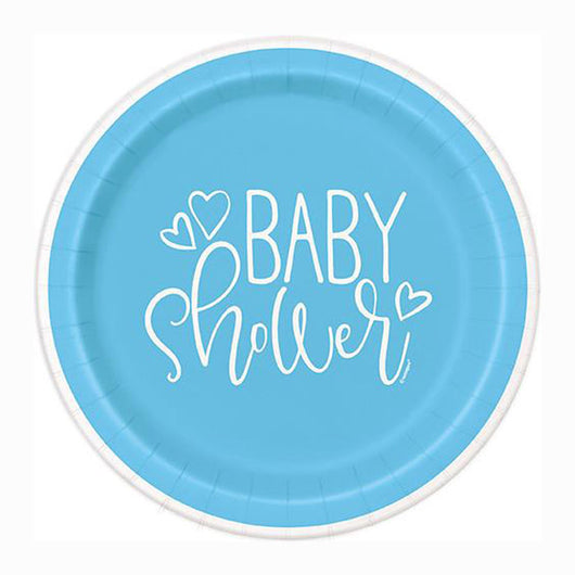 Baby Shower | It's a Boy | Paper Lunch Plates