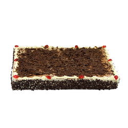 Black Forest Full Slab | Chocolate Layered with Sour Cherries & Cream | Best Value | The French Kitchen Castle Hill