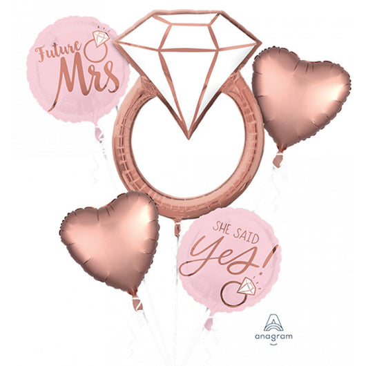 Future Mrs | Bridal Shower | Foil Balloon Set