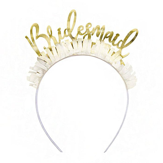 Bridal Shower | Bridesmaids Headbands