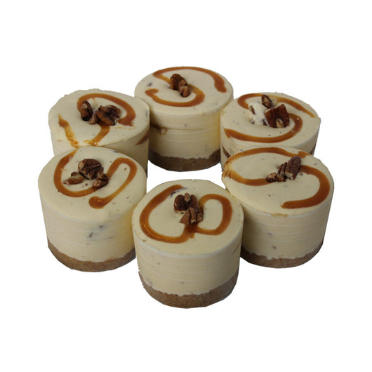 Caramel & Pecal Cheesecake 6 Pack