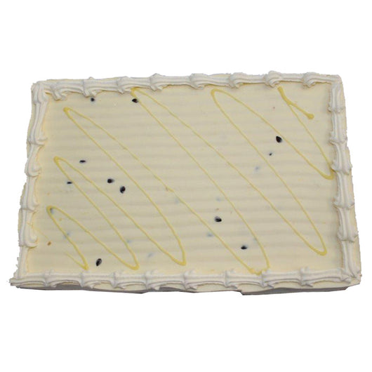 Passionfruit Cheesecake Half Slab