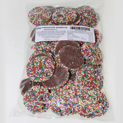 Large Chocolate  Jewels are like Freckles 500g bag