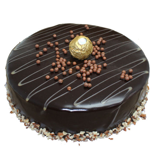 Cholate Hazelnut Rocher Cake