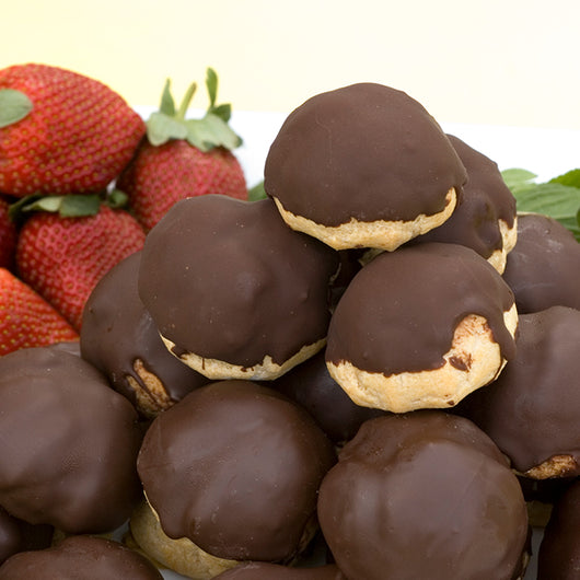 Profiteroles Salted Caramel Custard Chocolate Coated