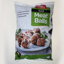 Flame Grilled Meatballs