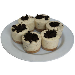 Cookies n Cream Cheesecakes 6 Pack
