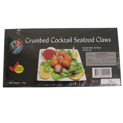 Crumbed Cocktail Seafood Claw