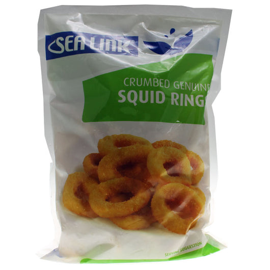 Squid Rings Crumbed