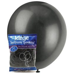 Decorator Black Balloons