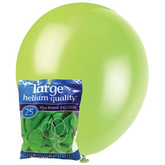 Decorator Lime Green Balloons