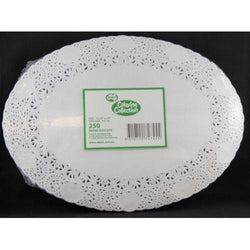 Oval Paper Doyleys 250
