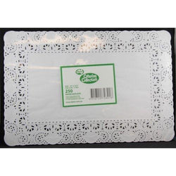 Rectangle Paper Doyleys 250 Pack