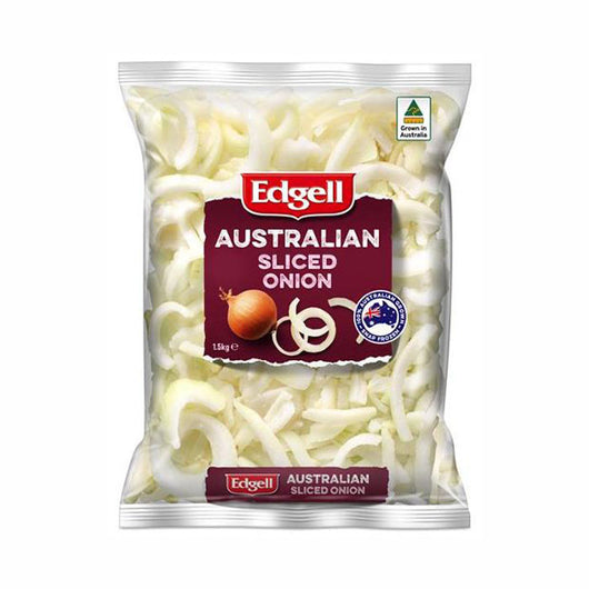 1.5kg Sliced Frozen Onions | The French Kitchen Castle Hill