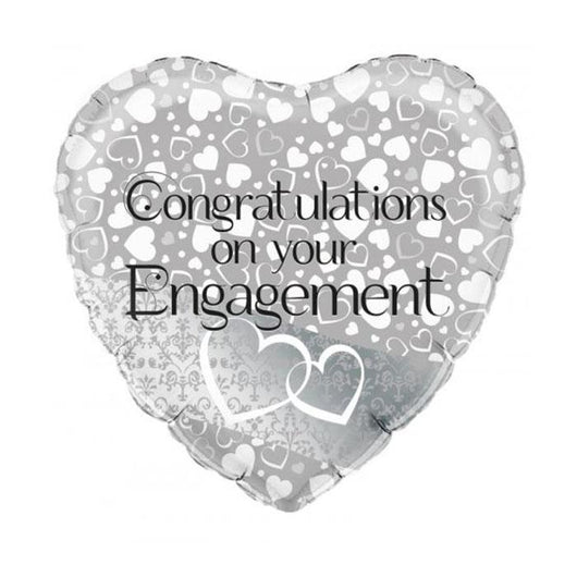 Engagement | Congrats | Heart Foil Balloon