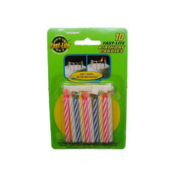 Fast-Lite Birthday Candles