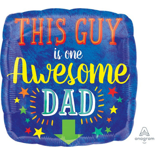 Happy Father's Day | Awesome Dad | Foil Balloon