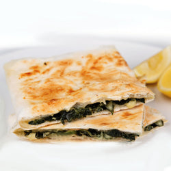 Feta and Spinach Gozleme