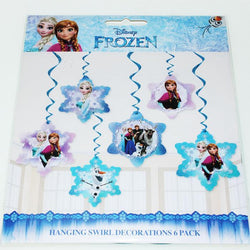 Frozen Swirl Hanging Decorations
