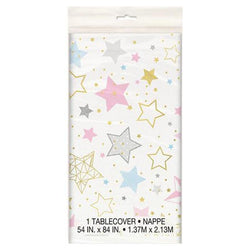 Bright Stars Patterned Table Cover
