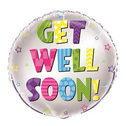 Get Well Soon | Foil Balloon