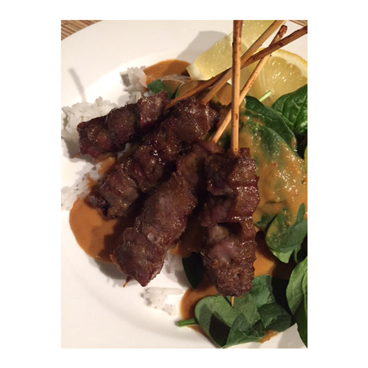 Beef Satay Skewers | Hakka Foods | The French Kitchen Castle Hill
