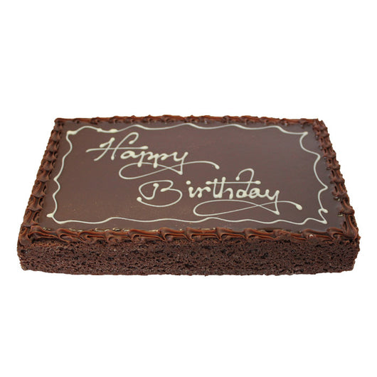 Pleasant Chocolate Happy Birthday Cake French Kitchen Castle Hill The Funny Birthday Cards Online Fluifree Goldxyz