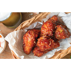Korean Fried Crisp Chicken Wings | The french Kitchen Castle Hill