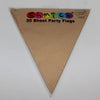 Bunting Party Flags | Kraft