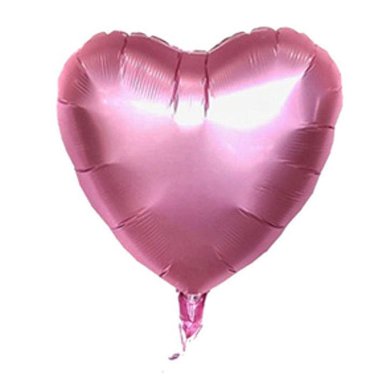 Foil Heart Balloons | Light Pink | Party | Shop Balloons @ The French Kitchen Castle Hill
