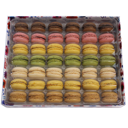 Assorted Macarons 42 Pack | The French Kitchen Castle Hill