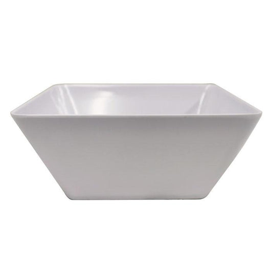 Melamine | Large Salad Bowl | Square Bowl | Catering | Tableware | The French Kitchen Castle Hill