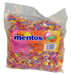Mint Mentos 540g individually wrapped mint