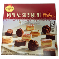 Poppies Mini Assorted 55pk | Belgium Pastries | Value Pack | The French Kitchen Castle Hill