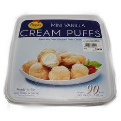 Poppies Cream Puffs | Bulk 90pk | Profiteroles & Pastries | The French Kitchen Castle Hill