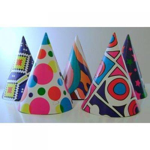 Laser Party Crowns - 6 Pack