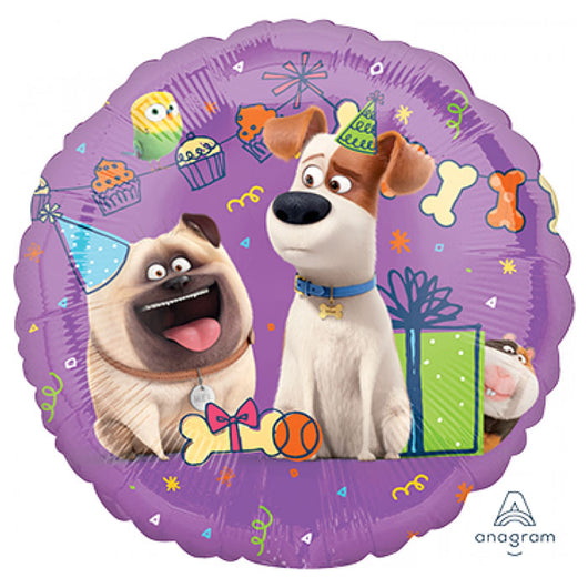 Pets 2 Foil Balloon  | The French Kitchen Castle Hill