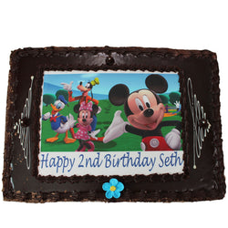 Photo Cake Mickey Mouse | The French Kitchen Castle Hill