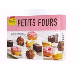 Poppies Petit Fours 12pk | High Tea | Sweet Treats | The French Kitchen Castle Hill