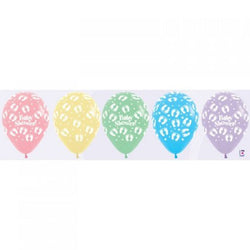 Printed 30cm Latex Balloons | Baby Shower | Pastels