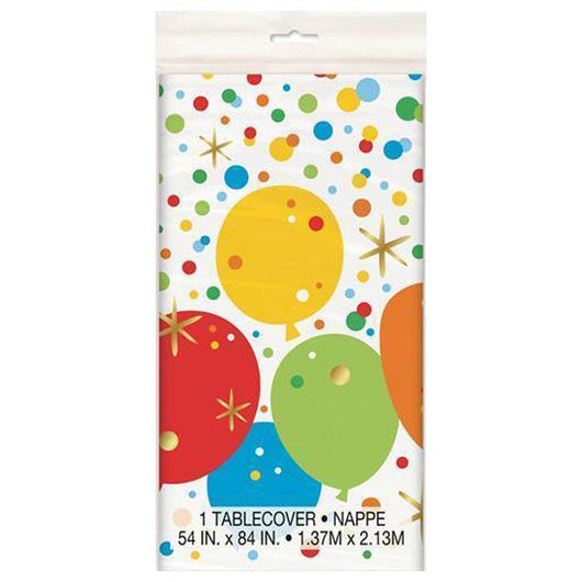 Glizty Balloon Patterned Table Cover