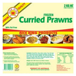 Rice King Curried Prawns Gluten Free